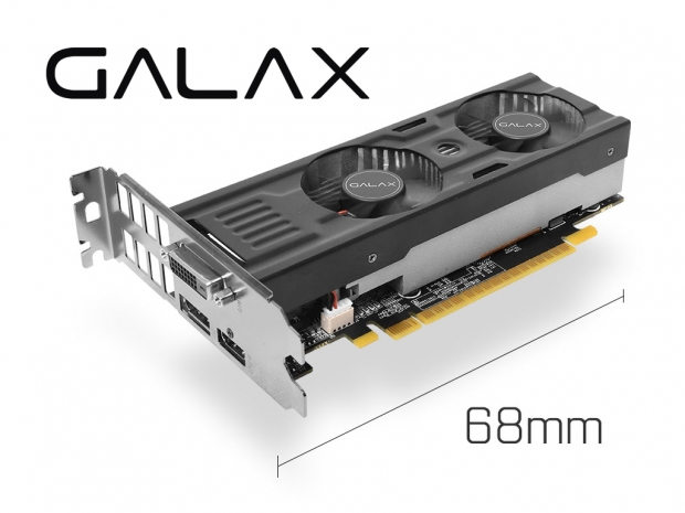 Galax launches low-profile GTX 1050 series