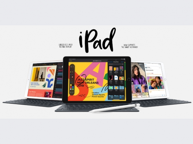 Apple also offers a new entry-level iPad