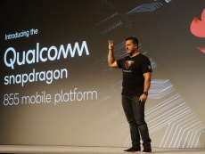 Alex Katouzian announced the Snapdragon 855