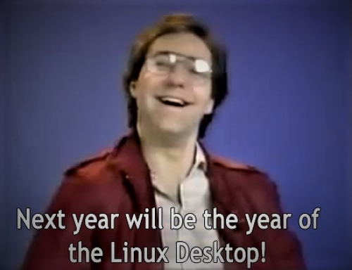 Linux will be the last operating system left on the desktop
