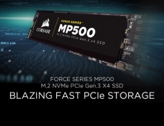 Corsair releases M.2 NVMe MP500 SSD series