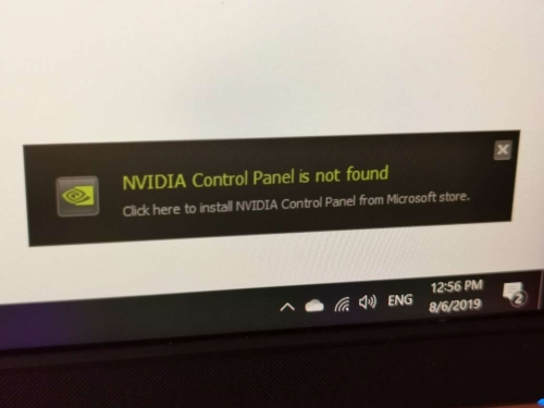 Nvidia driver 431.60 can fail installation