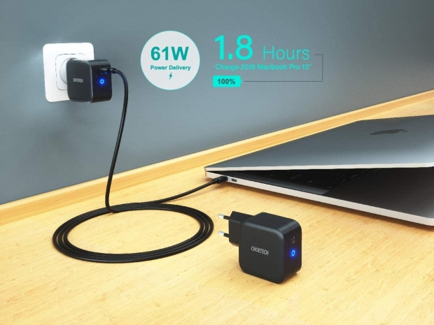 Choetech PD 61W USB -C mini charger