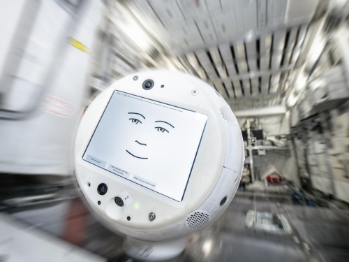 Emotional robot sent to international space station