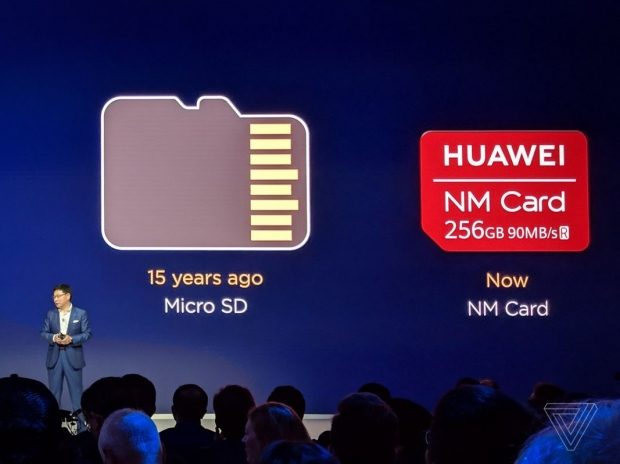 Huawei banned from using microSD cards