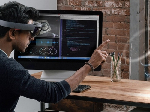 Microsoft announces AR and mixed-reality software