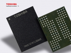 Toshiba announces 4-bit QLC NAND flash memory