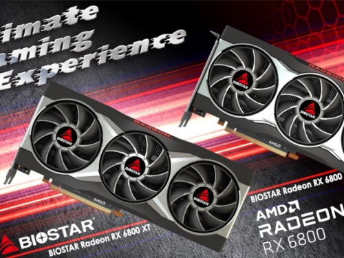 Biostar rolls out its own Radeon RX 6800 series graphics cards