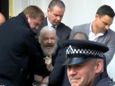 Assange finally arrested