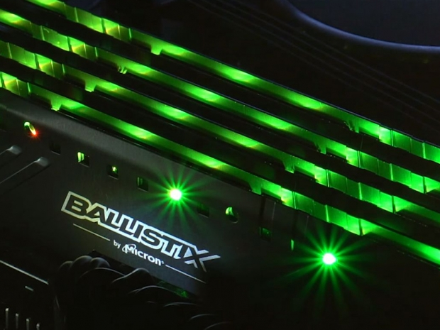 Crucial shows up with Ballistix Tactical Tracer RGB DDR4 memory
