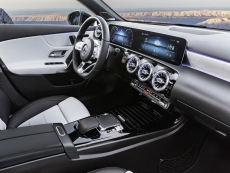Nvidia-powered AI cockpit shown in new Mercedes A-Class