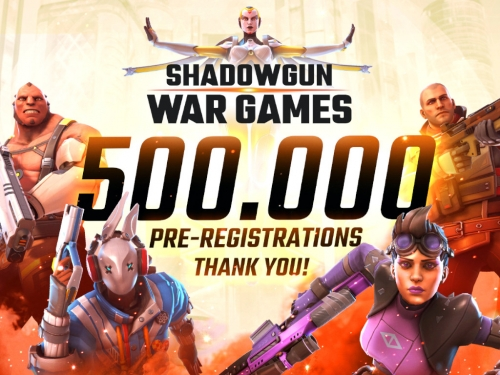 MADFINGER Games' Shadowgun War Games hits 500k milestone
