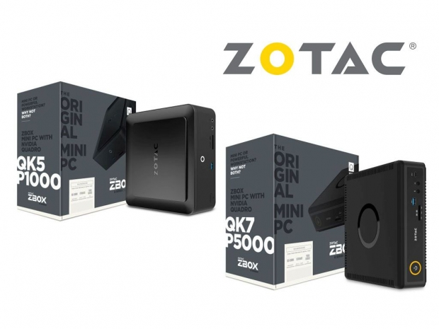 Zotac puts Nvidia Quadro in its latest ZBox Q-series mini PCs