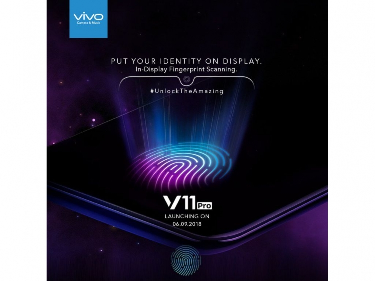 Vivo Brings Under Display Fingerprint To Mid Range With V11pro