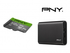 PNY bringing 512GB microSD card and portable SSD to Computex 2018