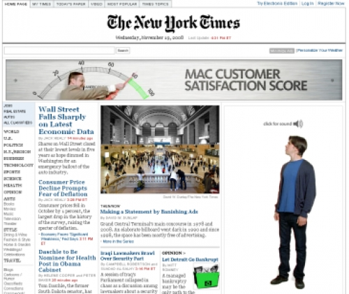 Apple falls out with New York Times