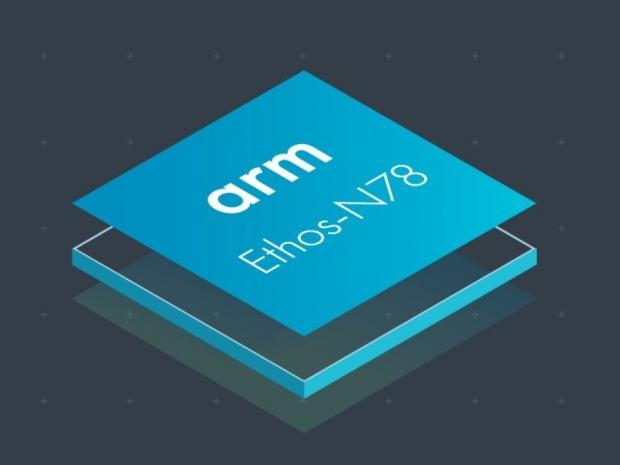 ARM introduces Ethos N78 NPU