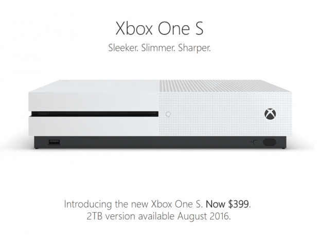 Microsoft announces Xbox One S console