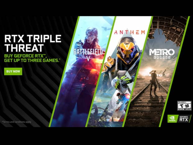 Nvidia launches RTX Triple Threat game bundle