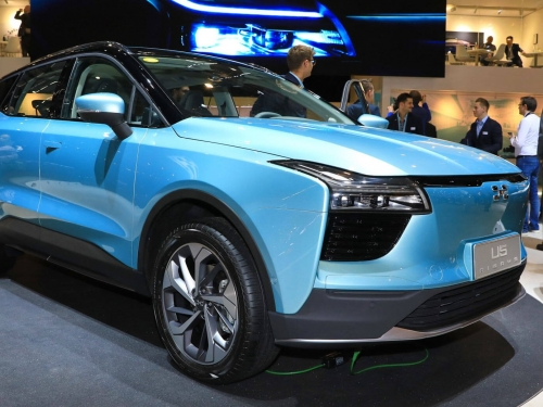 Aiways taking online orders for all electric SUV