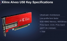 Xilinx Alveo U50 adaptable compute is out