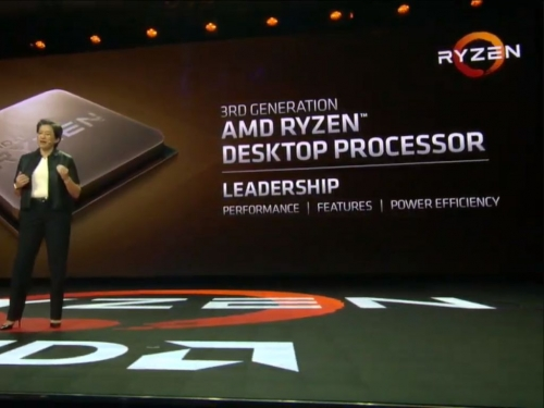 AMD previews 3rd gen Ryzen at CES 2019