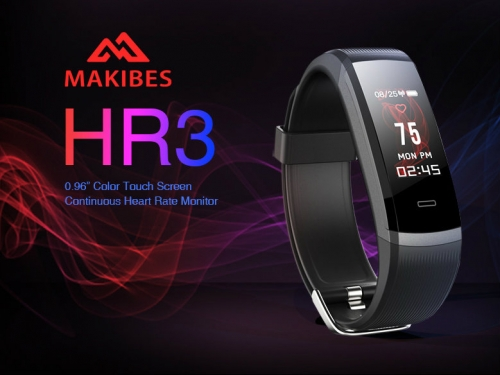 Makibes HR3 color smartband gets clean bill of health