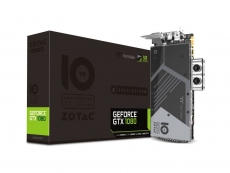 Zotac shows off a custom liquid-cooled GTX 1080