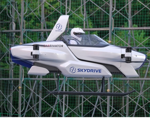 Japan on target to get flying taxis