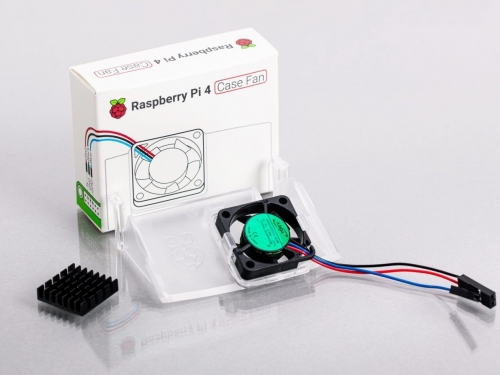 Raspberry Pi gets a fan