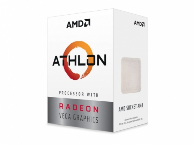 AMD Athlon 200GE now available