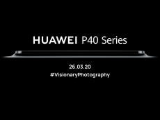 Huawei teases upcoming P40 series smartphones with big camera bump