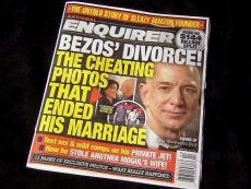 Amazon's Bezos says National Enquirer tried to blackmail him