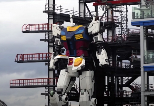 Japanese build a giant robot