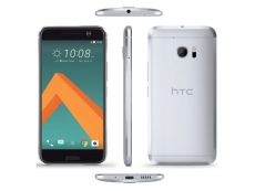 HTC 10 phone pictured