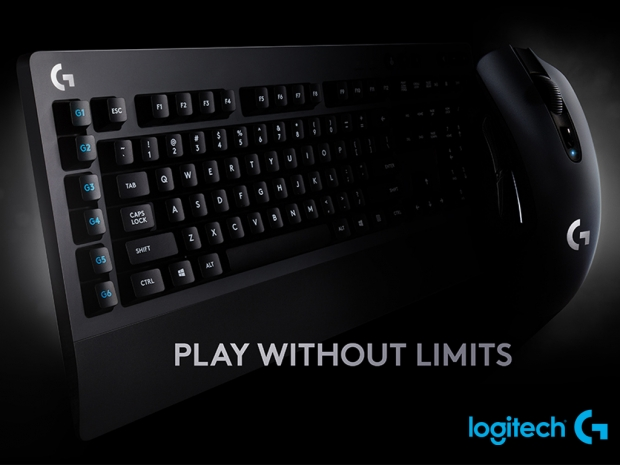 Logitech G unveils new Lightspeed mouse and keyboard
