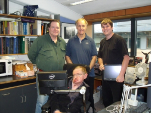 Intel remembers giving Stephen Hawking his voice