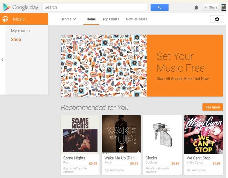 Google Play Music all access available in Europe