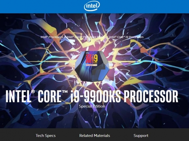 Core i9-9900KS Special Edition is out