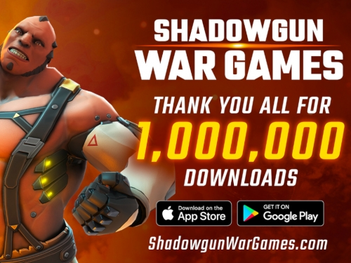 Shadowgun War Games hits 1 million downloads