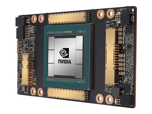 Nvidia unveils the A100 Tensor Core GPU