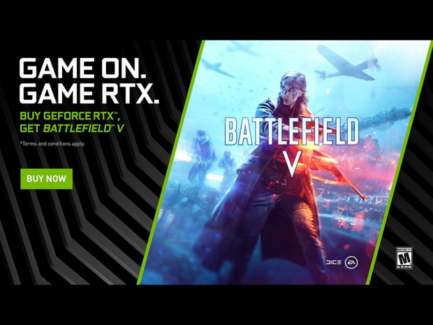 Nvidia bundles Battlefield V with RTX series graphics cards