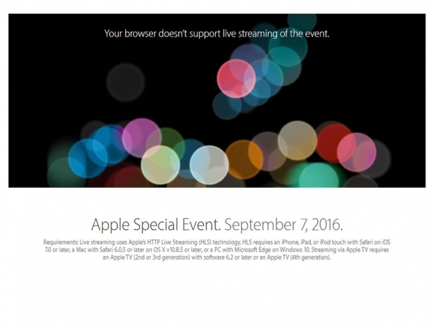 Apple event starts real soon now
