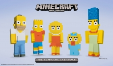 Minecraft to get Simpsons skins