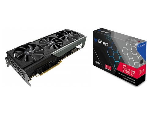 Sapphire's RX 5700 XT Nitro+ spotted in retail
