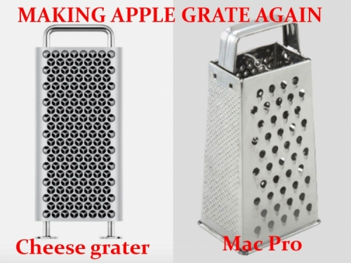Apple admits its giant cheese grater is a bit of a power hog