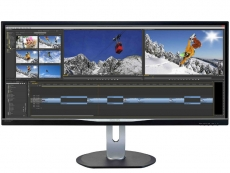 Philips BDM3470UP monitor sports 21:9 AH-IPS display