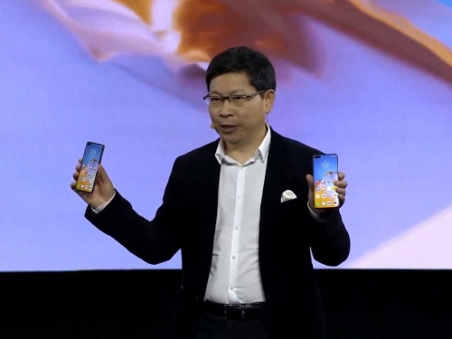 Huawei announces its new P40 series smartphones