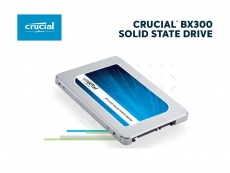 Crucial unveils BX300 series SSD