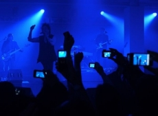 Apple patents tech to stop iphone users videoing concerts